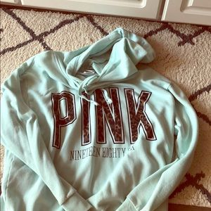Vs pink limited edition hoodie.